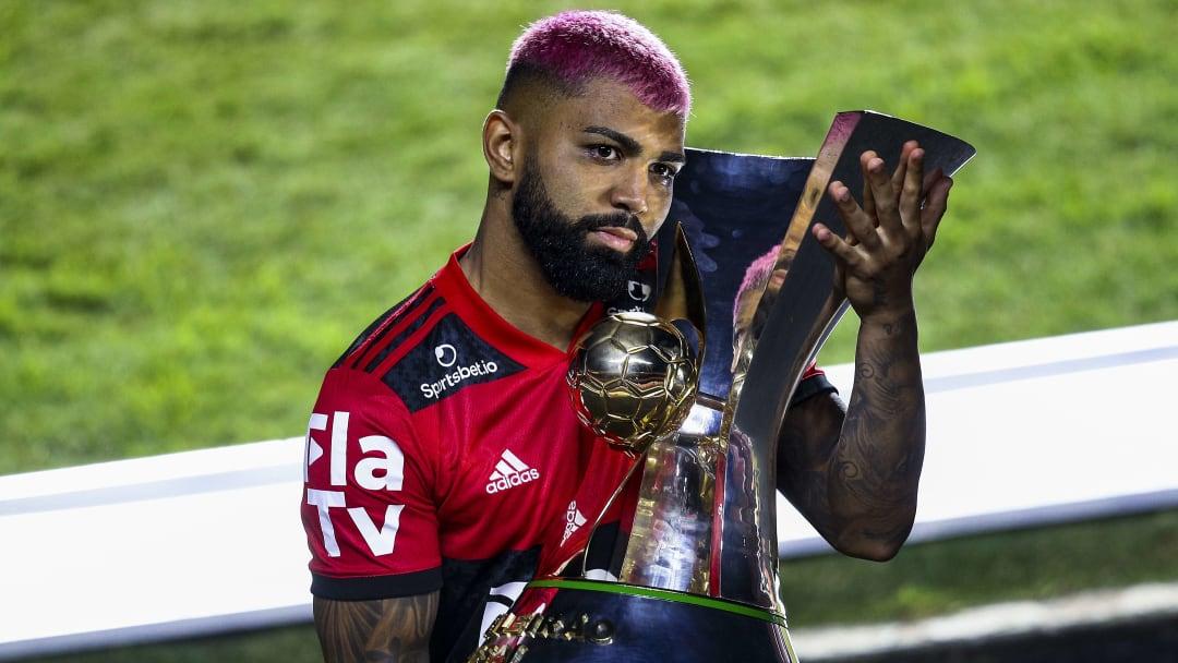 Gabriel Barbosa feiert den nächsten Titel mit Flamengo