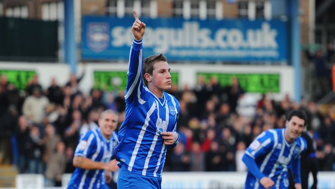 Chris Wood had a successfull loan spell with Brighton as the Seagulls won the League One title in the 2010/11 season