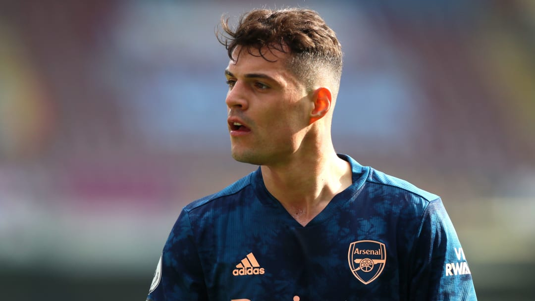 Granit Xhaka had been tipped to join Roma