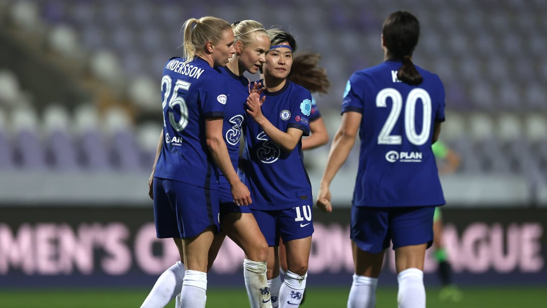 Chelsea beat Wolfsburg 2-1 in the Champions League