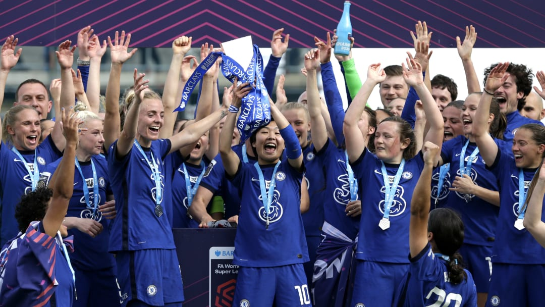 Chelsea secured the title in style