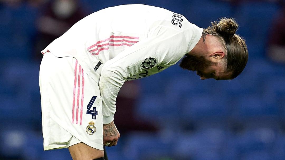Konnte seinem Team keinen Halt geben: Reals Kapitän Sergio Ramos