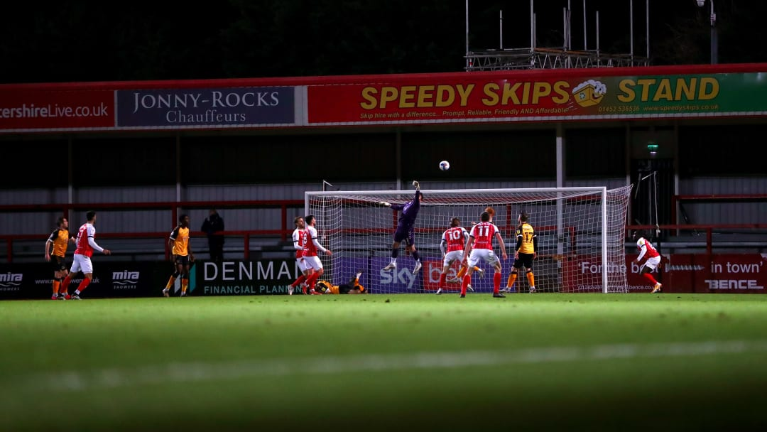 Cheltenham Town v Newport County - Sky Bet League Two
