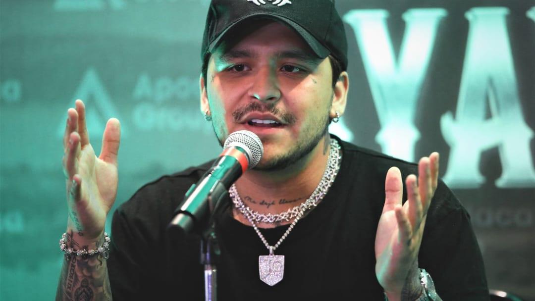 Christian Nodal habla sobre el tatuaje de Lupillo Rivera