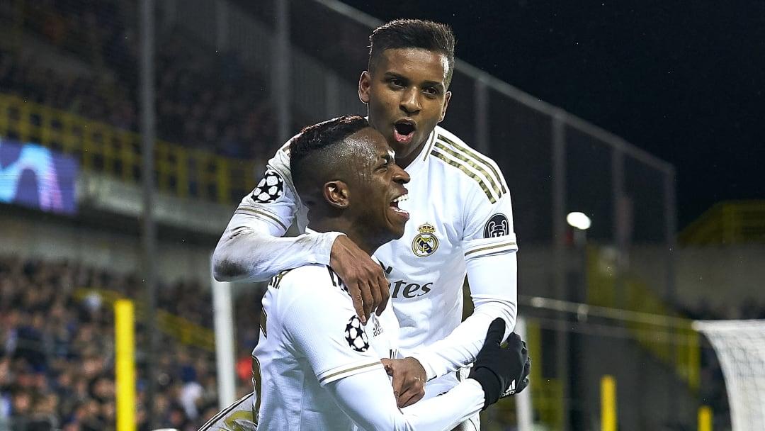 Dans les années à venir, le Real Madrid a bien l'intention de s'appuyer sur ses deux pépites brésiliennes, Rodrygo Goes et Vinicius Junior