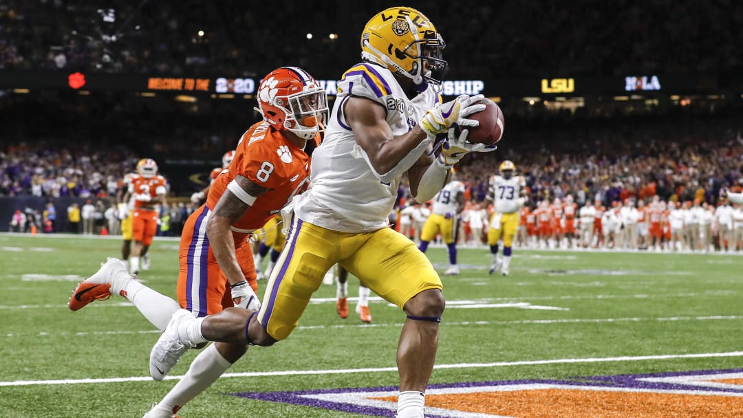 Three most likely teams to draft Ja'Marr Chase in the 2021 NFL Draft.