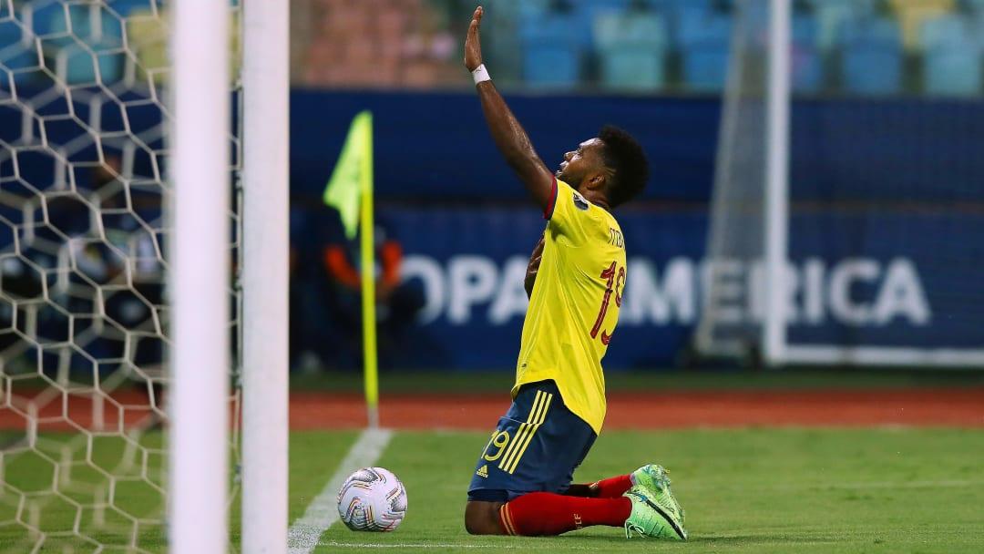 Miguel Borja'nın gol sevinci