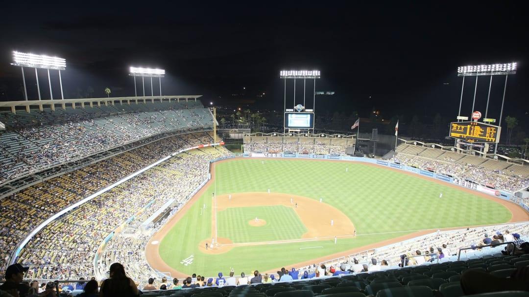 Dodger Stadium in Los Angeles, California