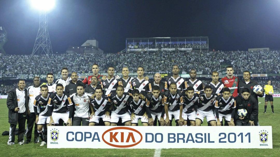 Coritiba v Vasco - Brazil Cup 2011 Final
