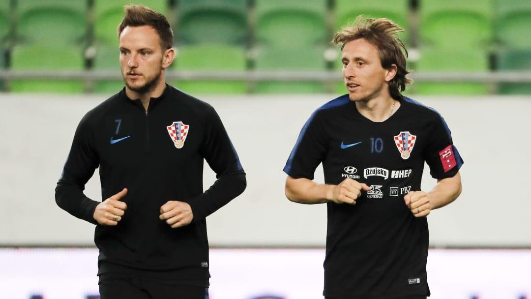 Rakitic y Modric