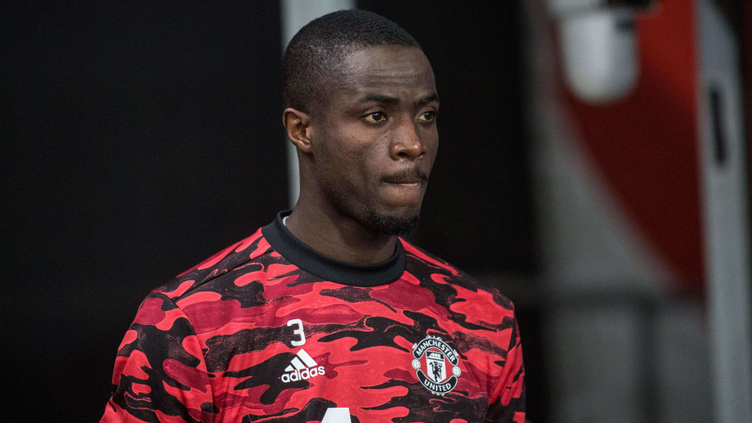 Eric Bailly doesn't want to sit on the bench for Man Utd