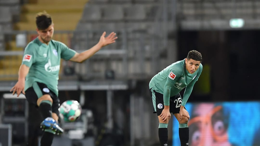 FC Schalke 04 were relegated on Tuesday evening after losing to Arminia Bielefeld