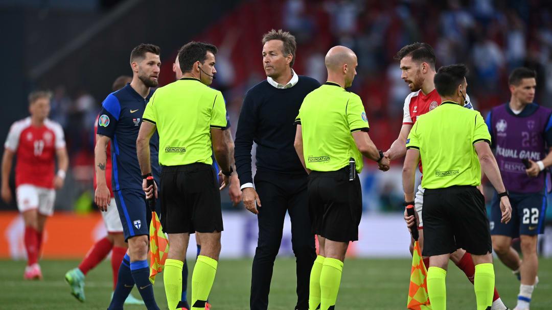 Dänemarks Trainer Kasper Hjulmand kritisiert die UEFA