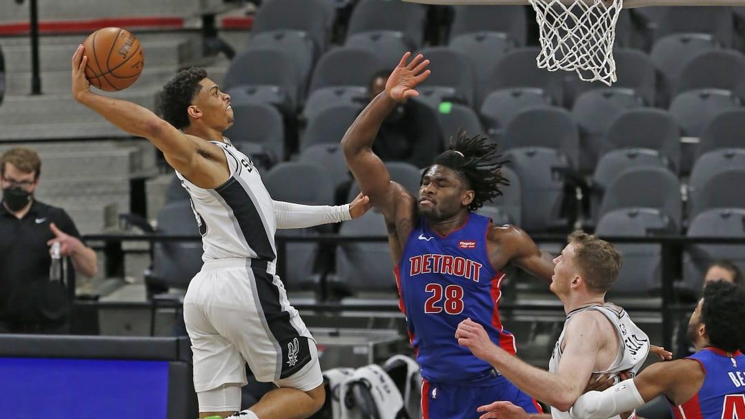 Keldon Johnson - Detroit Pistons  v San Antonio Spurs