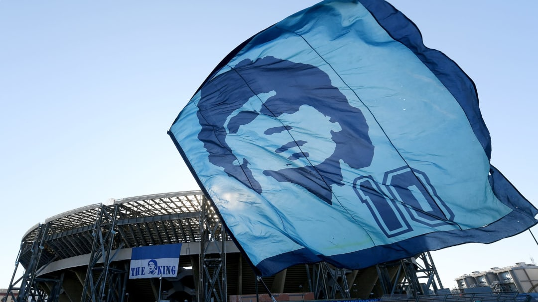 Diego Armando Maradona Death Mourning In Naples