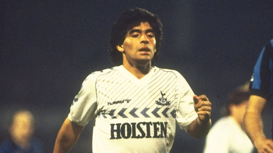 Diego Maradona of Tottenham Hotspur