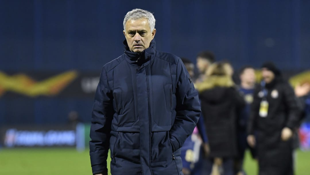Jose Mourinho was sacked by Spurs on Monday following the team's dismal form