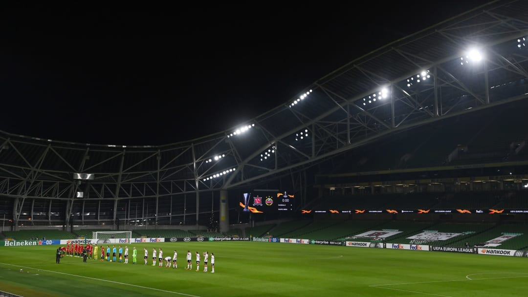 Dundalk FC v Rapid Wien: Group B - UEFA Europa League