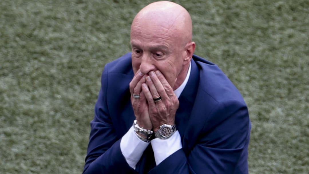 Marco Rossi n'a pu contenir ses larmes après le nul de la Hongrie.