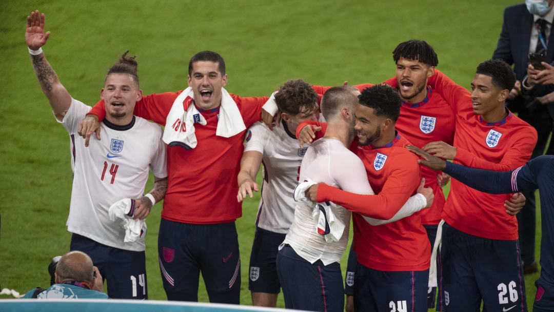 England ended their 55-year wait to play in a major final when they beat Denmark in the last four