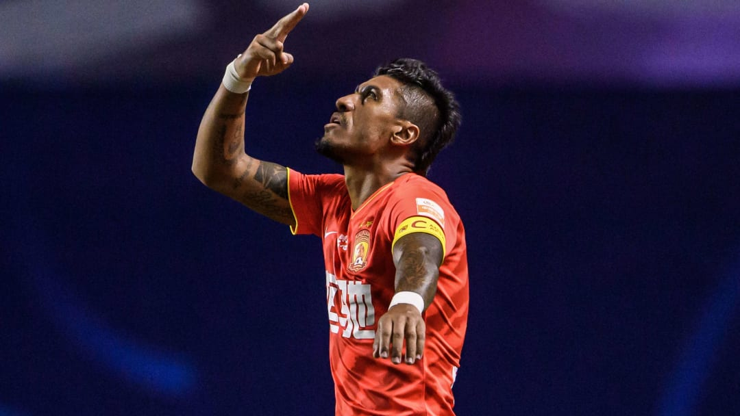 Paulinho'nun gol sevinci