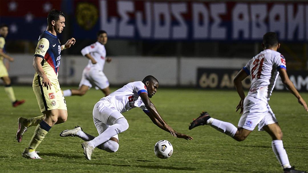FBL-CONCACAF-OLIMPIA-AMERICA