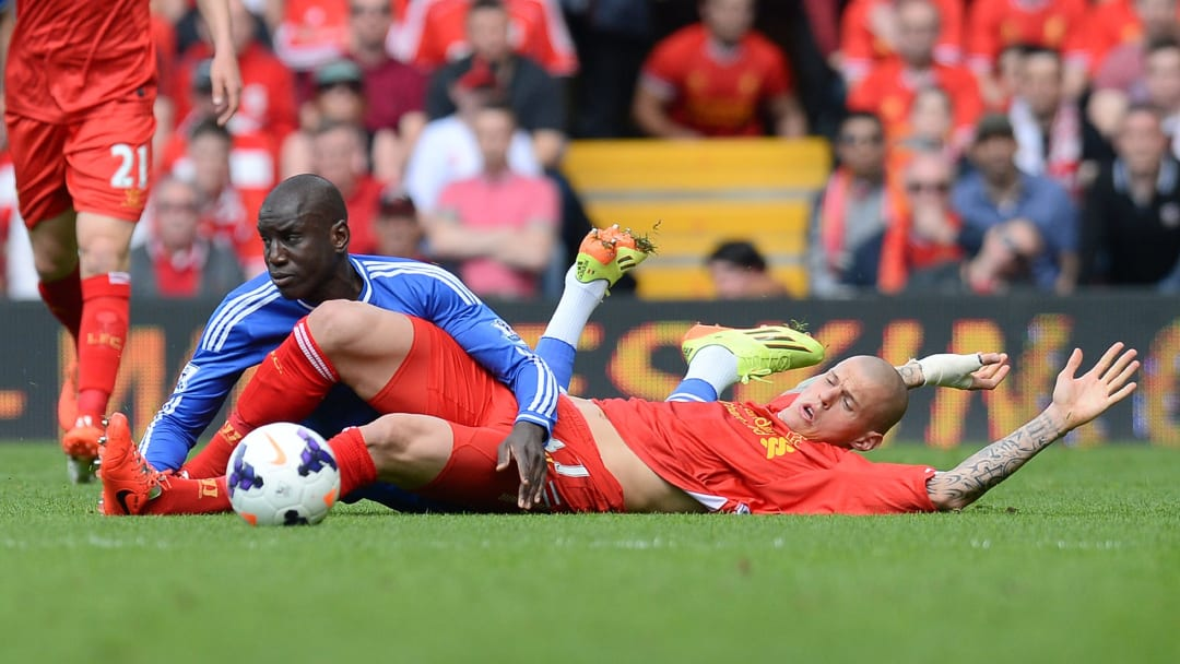 Demba Ba and Martin Skrtel were Premier League rivals, but won the top flight title together in Turkey