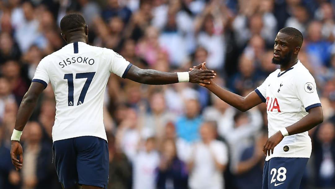 Moussa Sissoko et Tanguy Ndombele Tottenham.