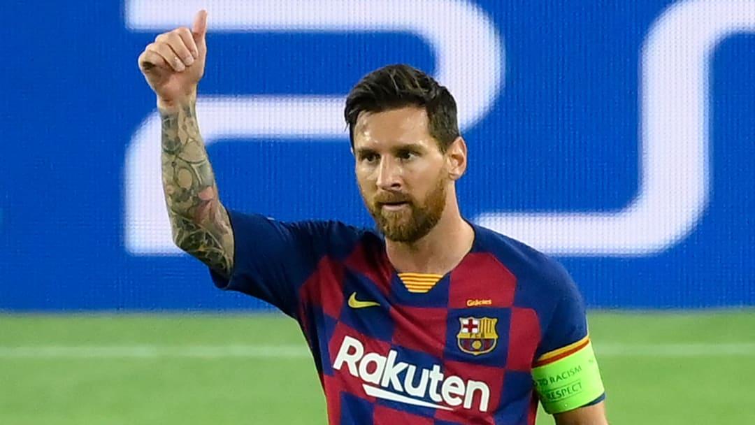 Lionel Messi face au SSC Napoli en Ligue des Champions