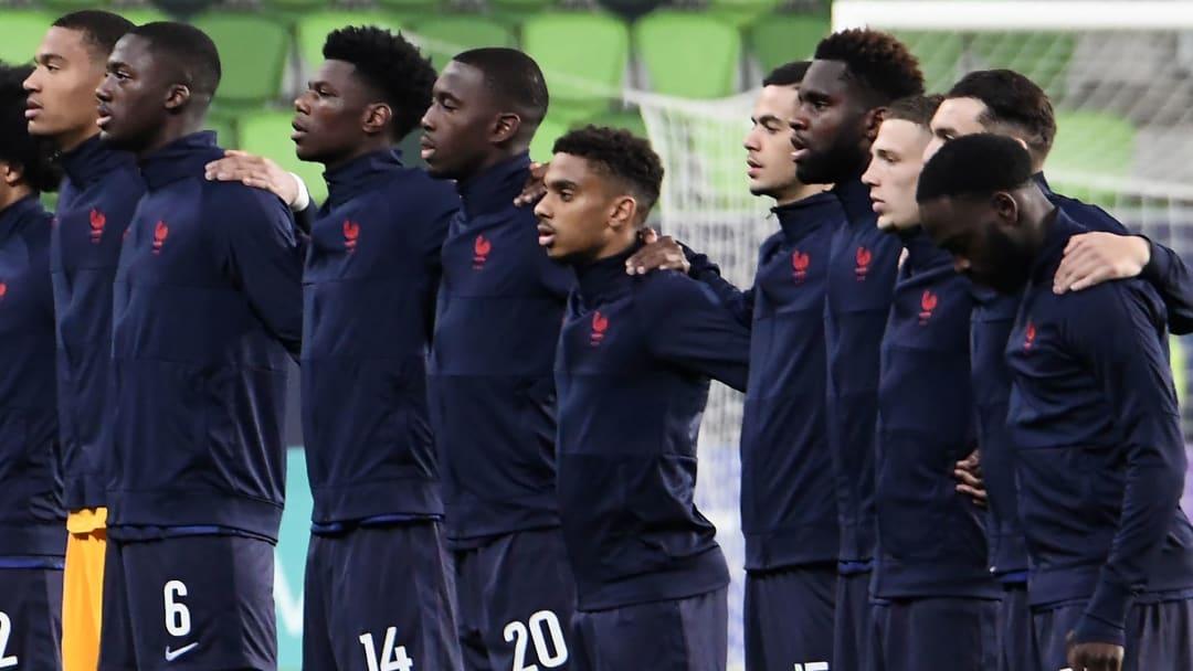 L'Équipe de France Espoirs lors de l'Euro.