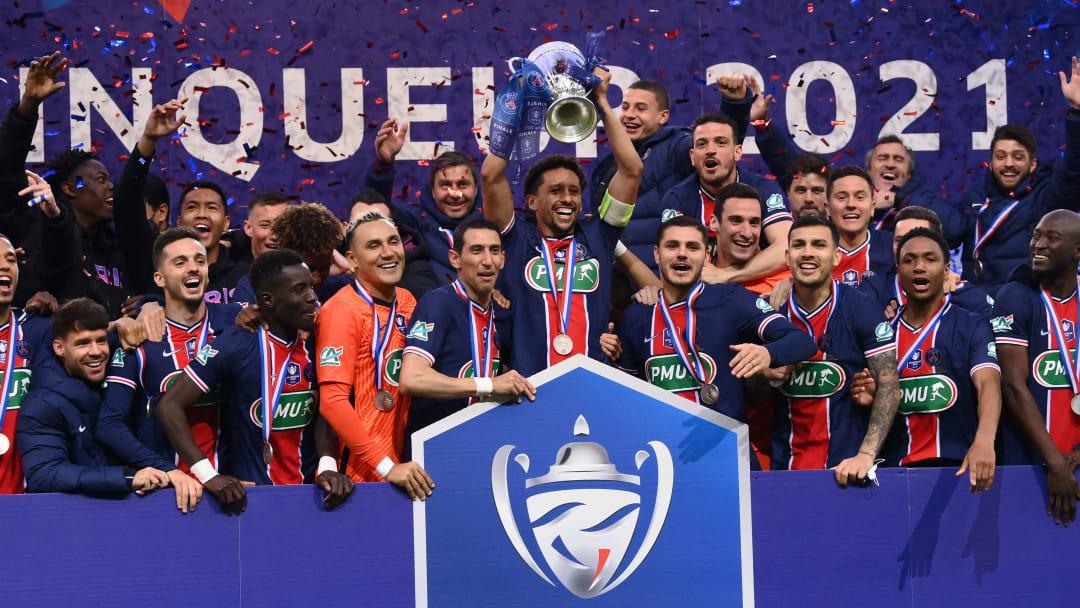 Le PSG remporte la Coupe de France sur le score de 2 buts à 0 face à l'AS Monaco
