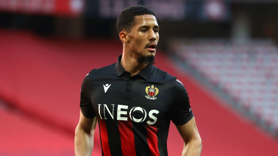 William Saliba à l'OGC Nice.