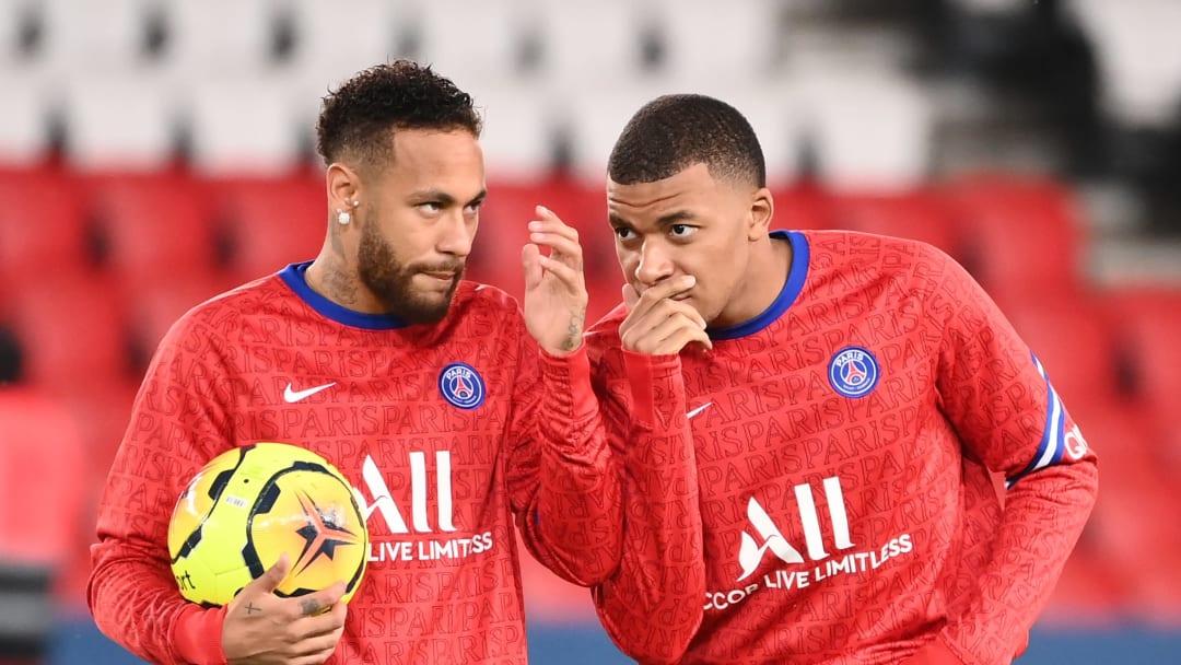 Neymar et Mbappé sont de retour à l'entraînement avec le PSG