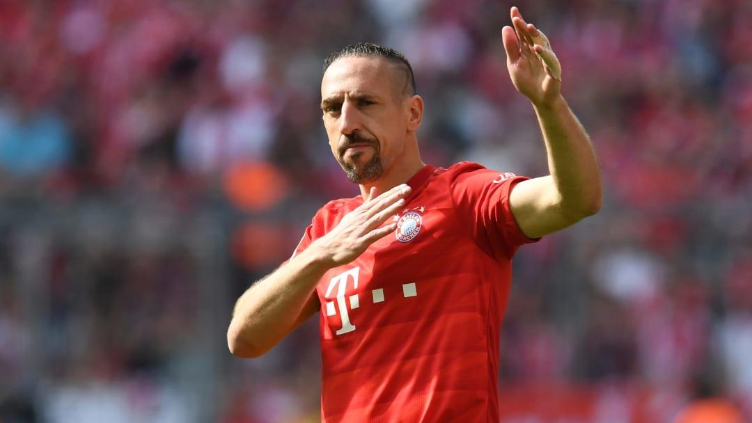 Ribery erzielte mehrere Tore des Monats