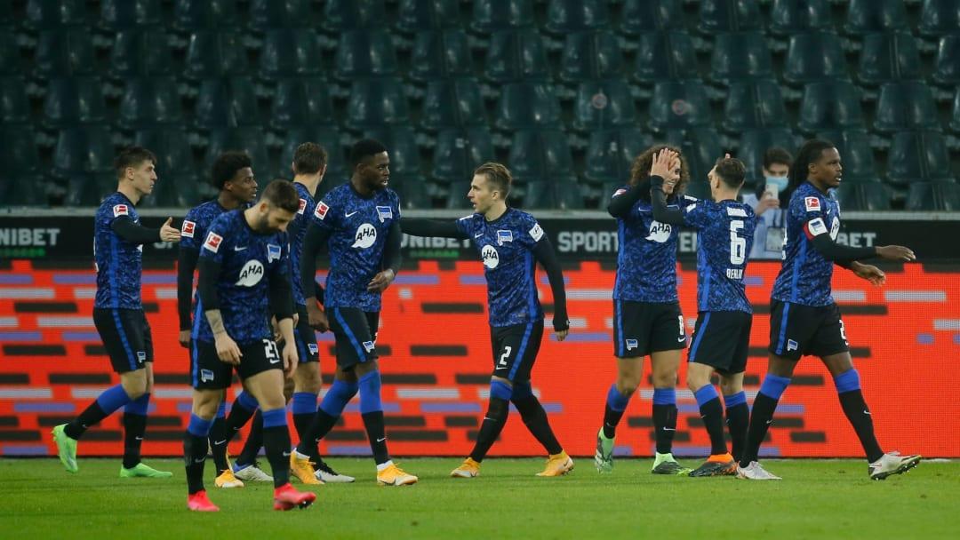Hertha bejubelt das erste Bundesliga-Tor von Mattéo Guendouzi