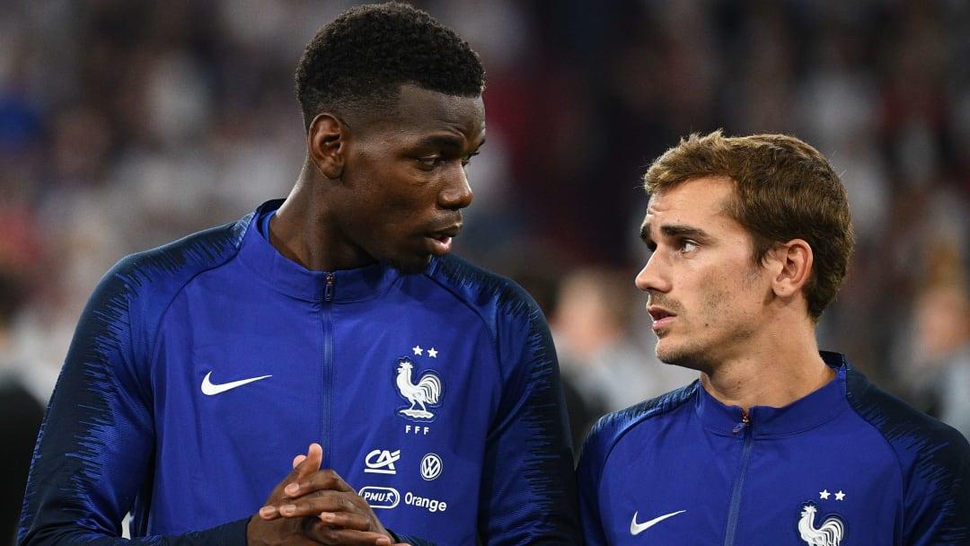 Pogba et Griezmann, deux amis et leaders de l'équipe de France.