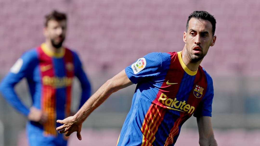 Busquets has suffered a broken jaw