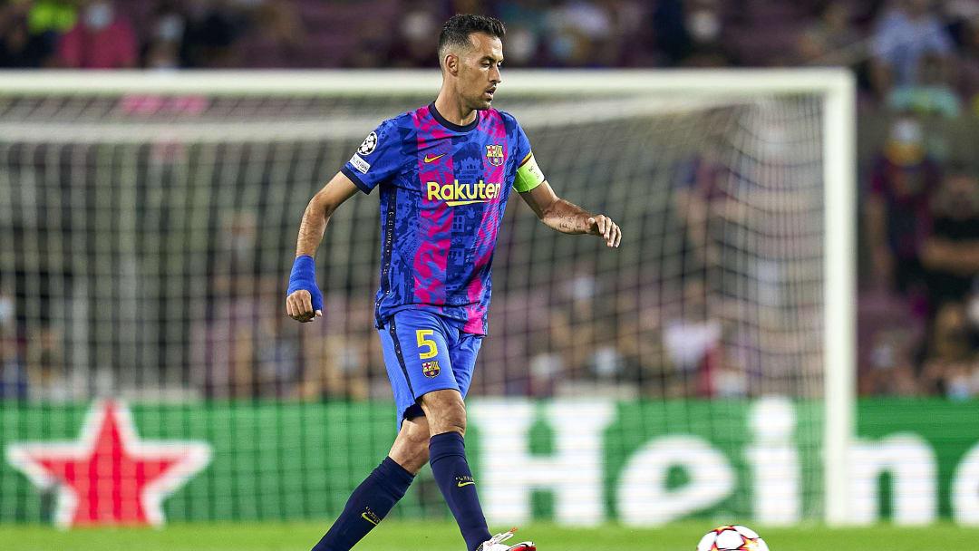Sergio Busquets will mit Barça den dritten Sieg im vierten Spiel