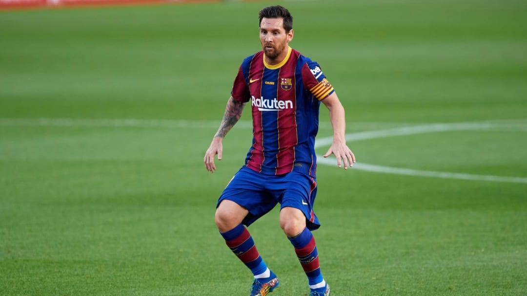 Messi, en el Gamper del año pasado