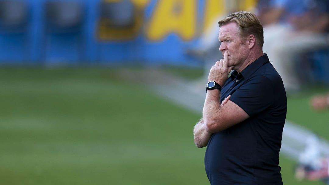 Sah beim ersten Test viel Gutes - vor allen von den Youngstern: Barça-Coach Ronald Koeman