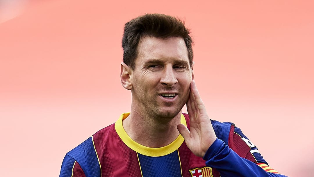 Lionel Messi has been offered a deal by Man City