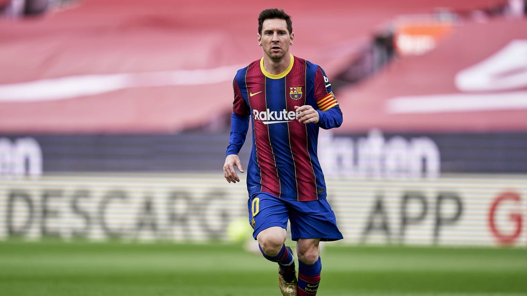 Lionel Messi is currently a free agent after his contract with Barcelona expired in July