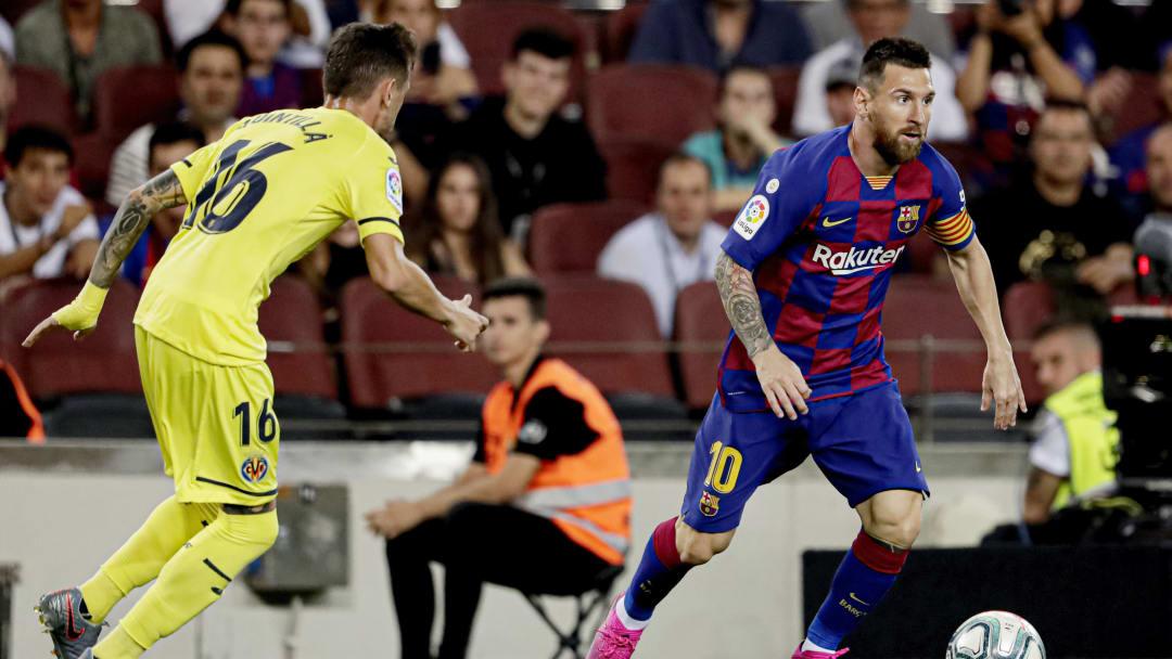 Lionel Messi, Xavier Quintilla
