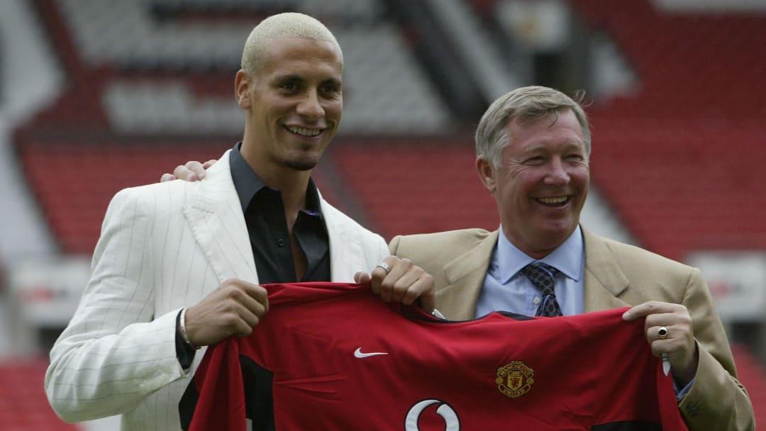 United signed Ferdinand in 2002