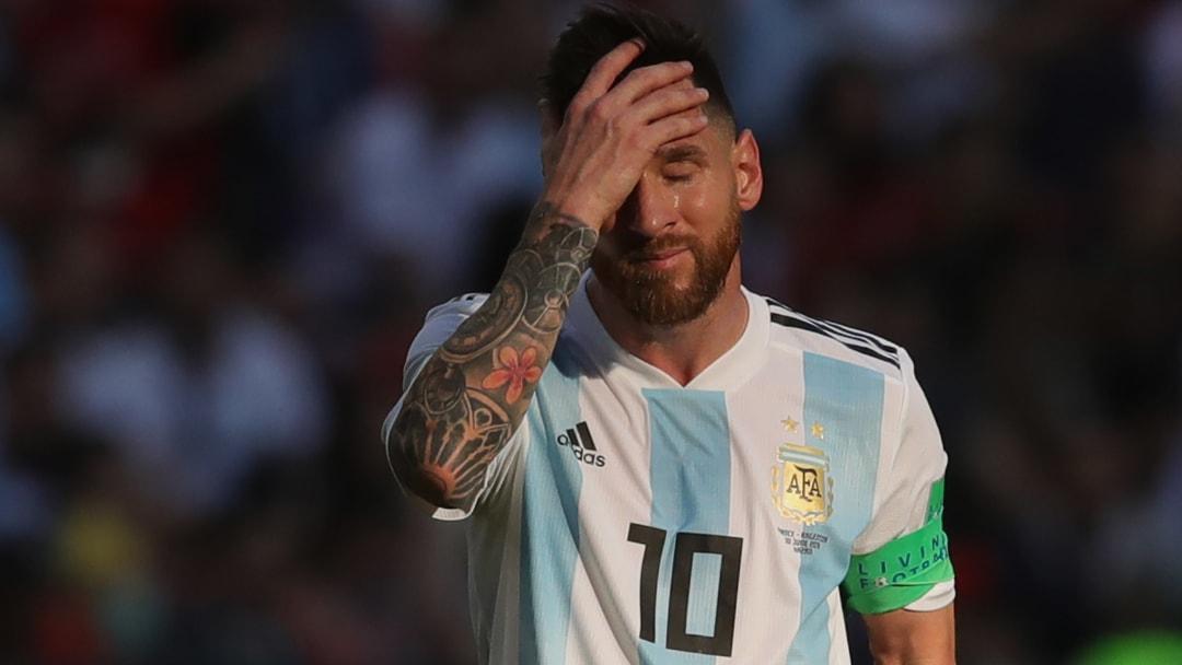 Lionel Messi n'a toujours pas remporté un trophée avec l'équipe première d'Argentine