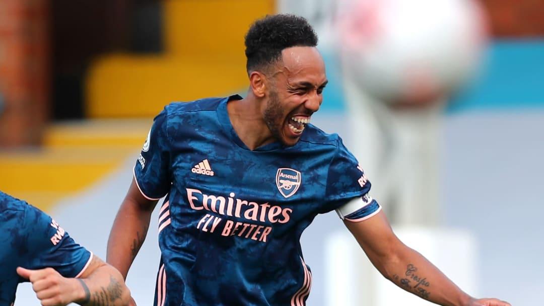 Aubameyang has signed a new deal at Arsenal