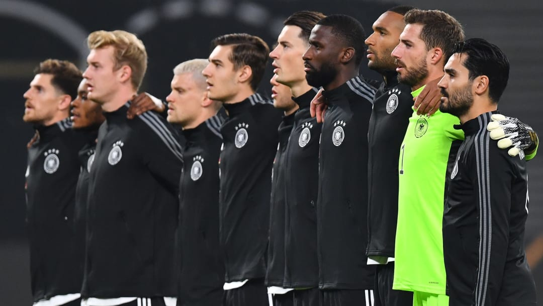 Germany take on Ukraine in the Nations League