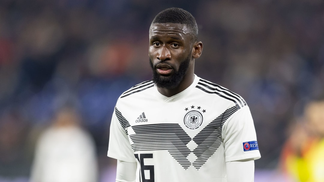 Germany and Chelsea star Antonio Rüdiger