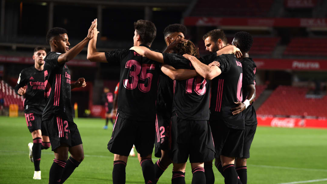 Real Madrid menang 4-1 vs Granada