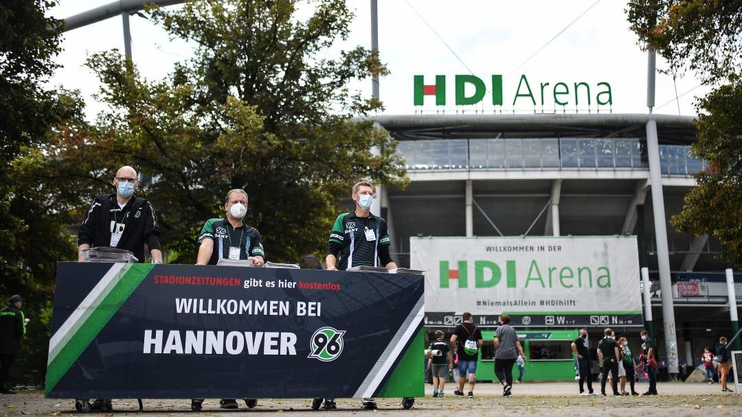 Nur noch bis zum kommenden Sommer ein Name: Die HDI Arena